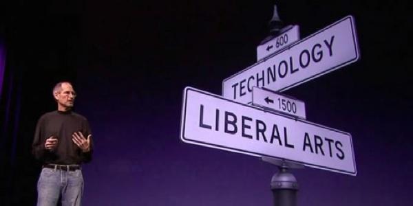 """tecnologia e """"arti liberali"""" alla presentazione dell'iPad"""