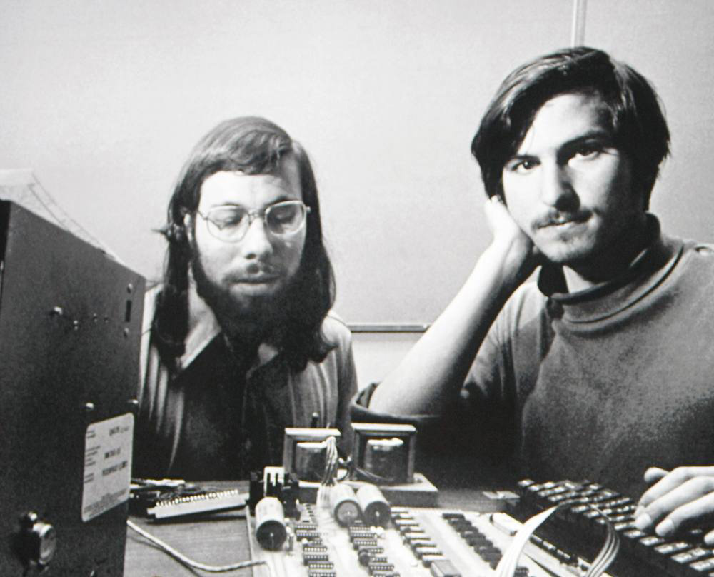 Woz and Jobs, 1976