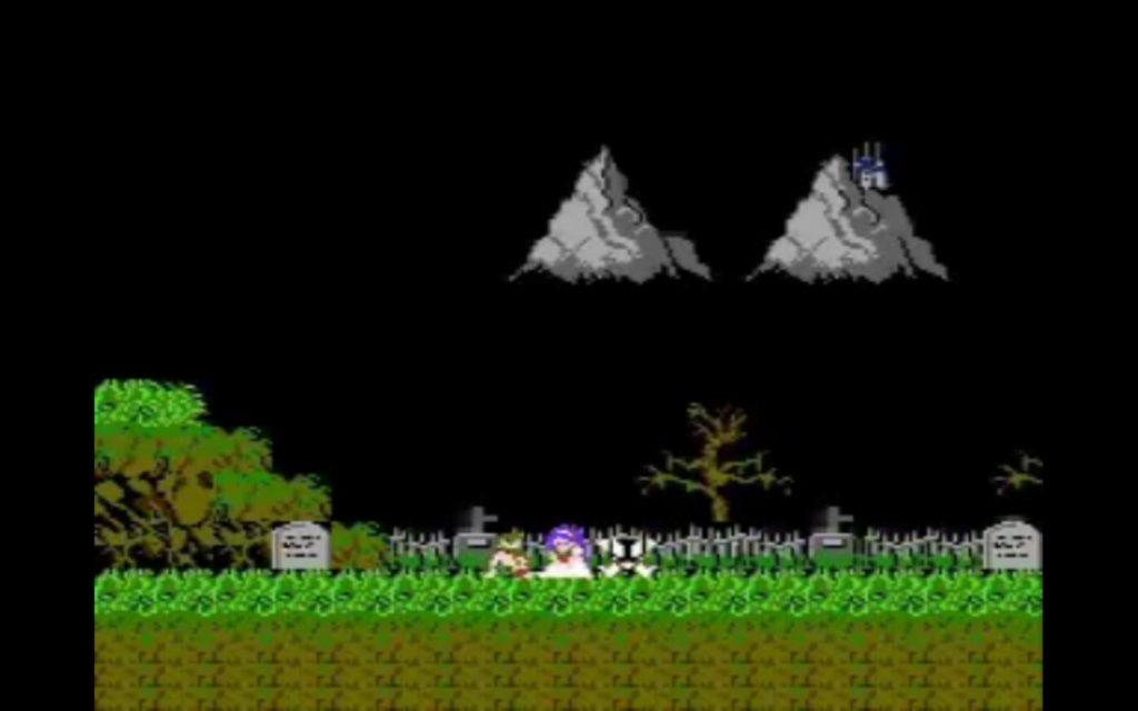 narrazione attraverso i giochi: Ghosts n Goblin