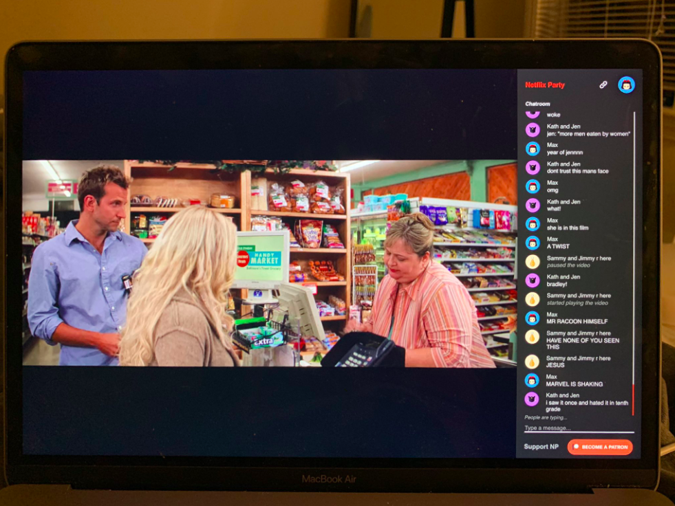 online youth work : netflix party?