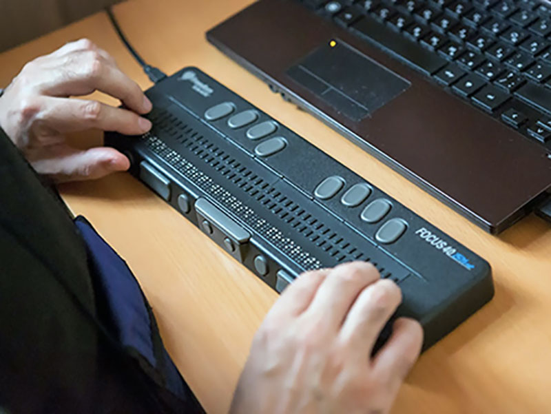 digital inclusion : a usb braille display