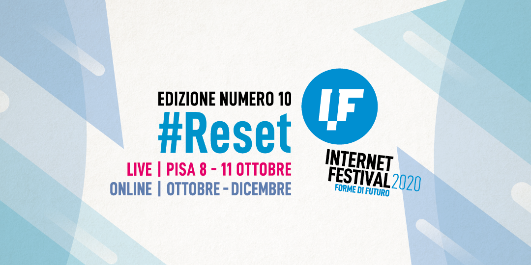 Internet Festival 10 #reset logo